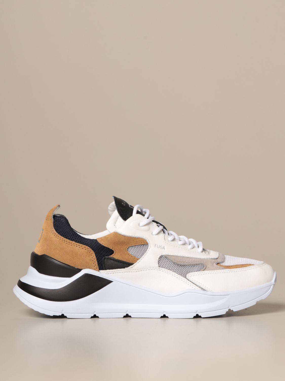 Sneakers D.a.t.e.: Shoes men D.a.t.e. sand 1