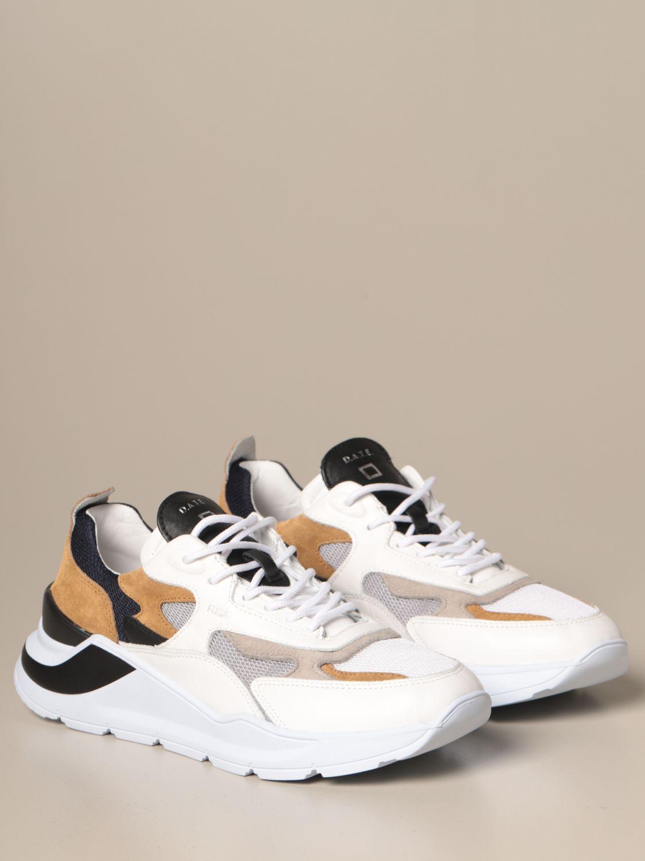 Sneakers D.a.t.e.: Shoes men D.a.t.e. sand 2