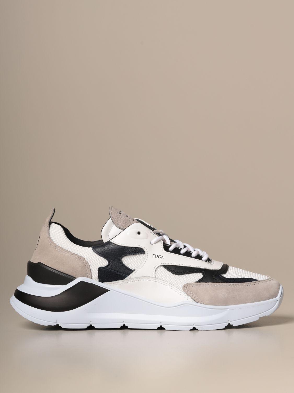Sneakers D.a.t.e.: Shoes men D.a.t.e. blue 1
