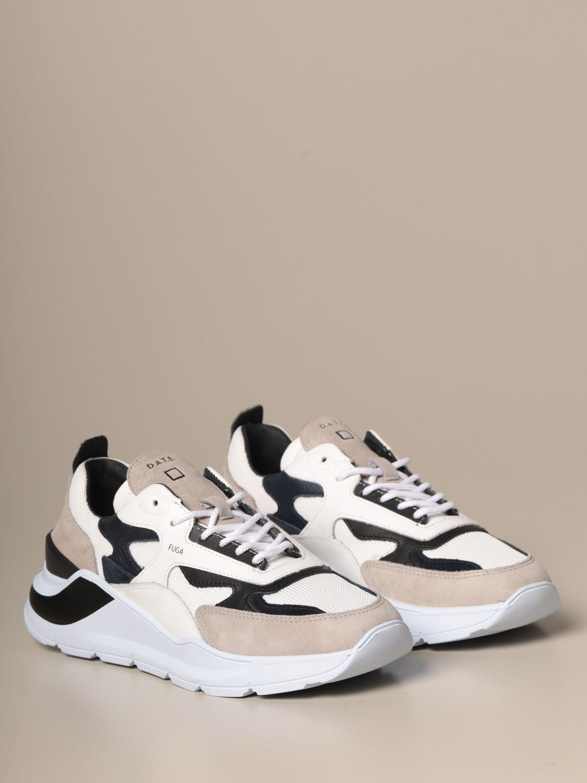 Sneakers D.a.t.e.: Shoes men D.a.t.e. blue 2