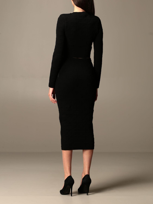 Zweiteiliger Anzug Elisabetta Franchi: Zweiteiliger anzug damen Elisabetta Franchi schwarz 2