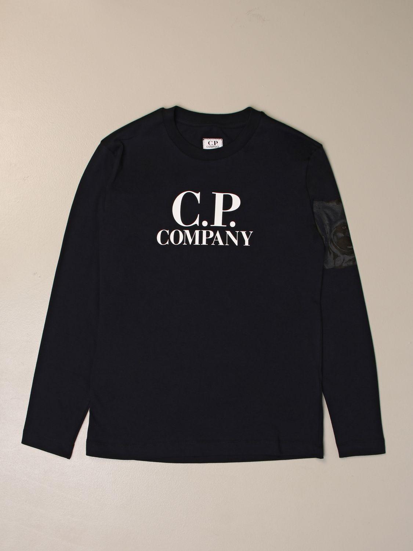 Jersey C.p. Company: Jersey niños C.p. Company azul oscuro 1