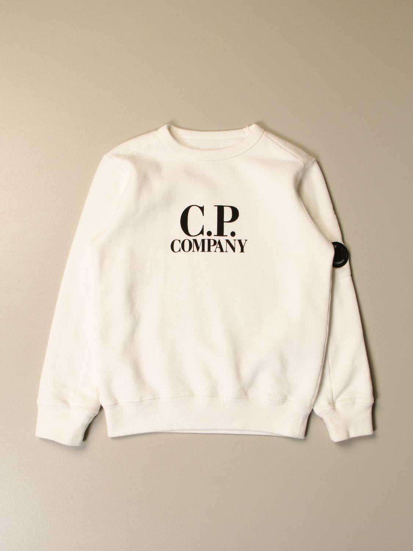 Jersey C.p. Company: Jersey niños C.p. Company blanco 1