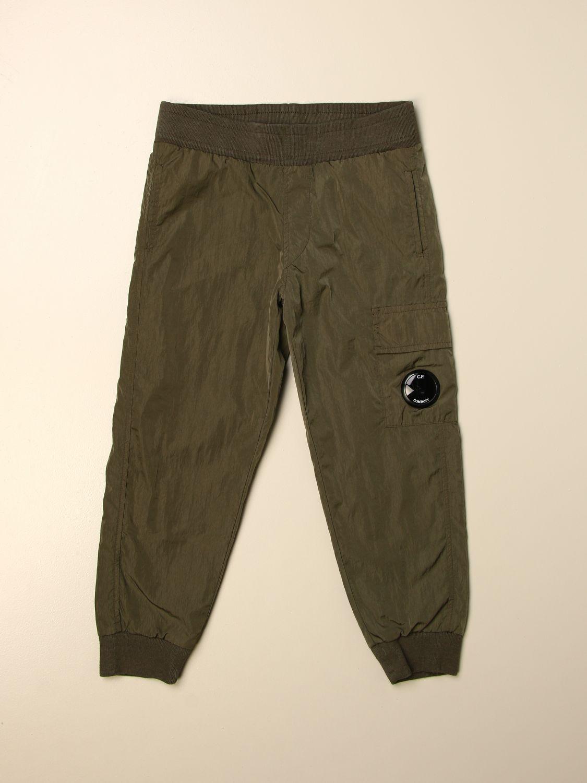 Pantalón C.p. Company: Pantalón niños C.p. Company verde 1