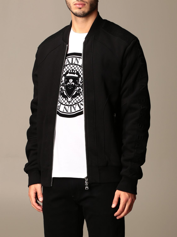 Jacket Balmain: Jacket men Balmain black 3