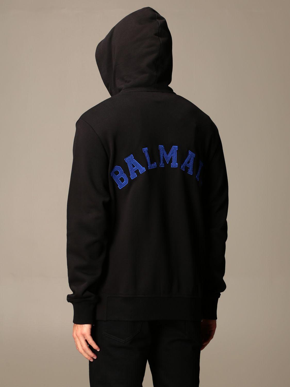 Sweatshirt Balmain: Sweatshirt homme Balmain noir 2