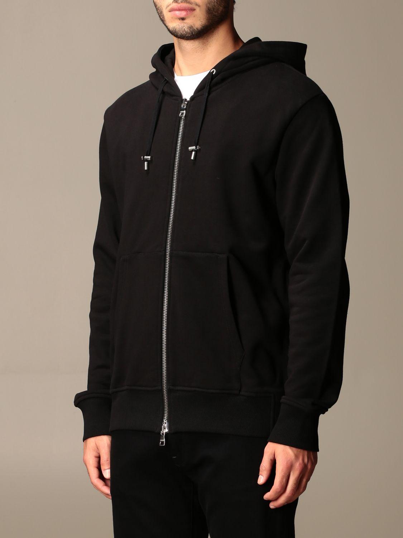 Sweatshirt Balmain: Sweatshirt homme Balmain noir 3