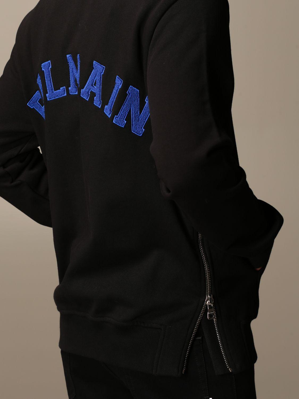 Sweatshirt Balmain: Sweatshirt homme Balmain noir 4