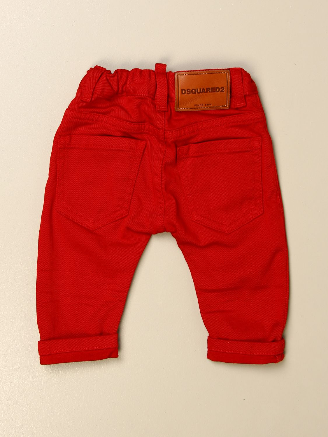 Trousers Dsquared2 Junior: Trousers kids Dsquared2 Junior red 2