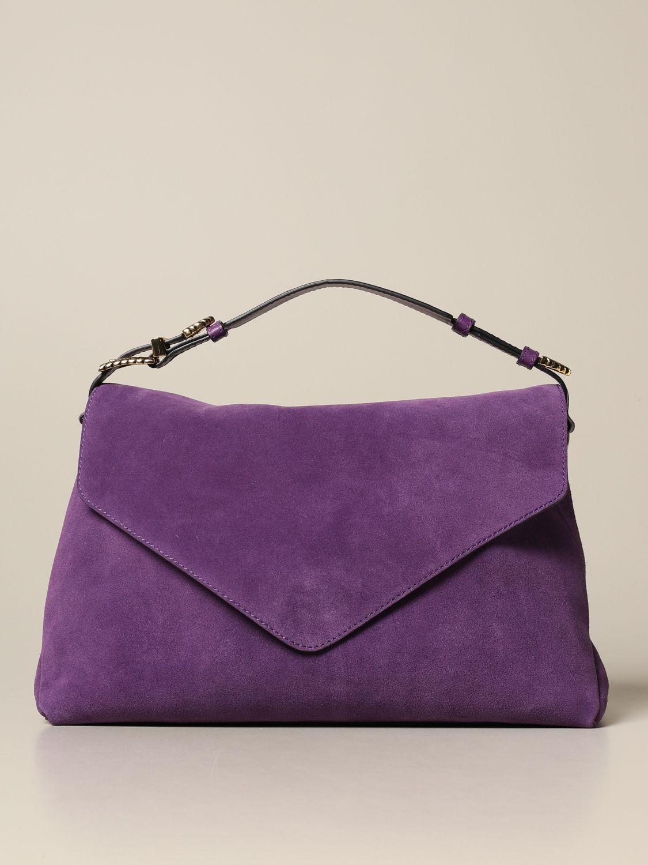 Bolso de hombro Alberta Ferretti: Bolso de hombro mujer Alberta Ferretti violeta 1