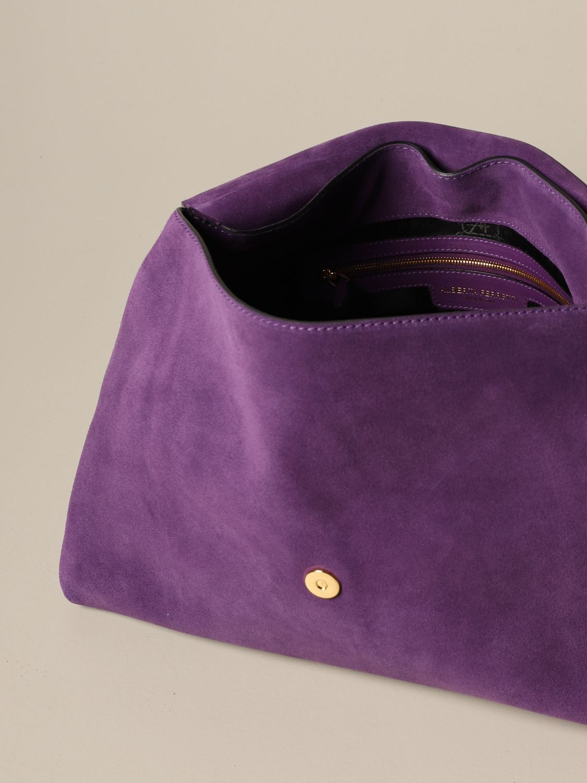 Bolso de hombro Alberta Ferretti: Bolso de hombro mujer Alberta Ferretti violeta 5