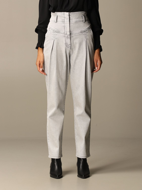 Jeans Alberta Ferretti: Jeans women Alberta Ferretti grey 1
