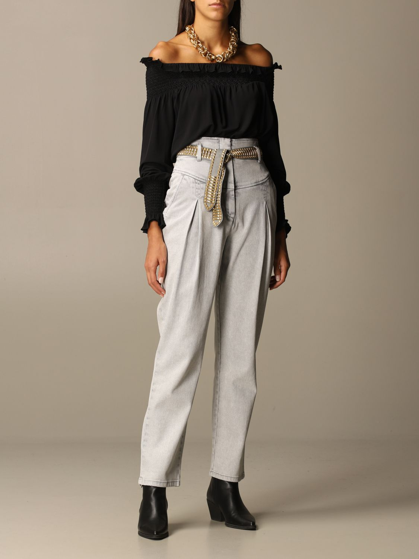 Jeans Alberta Ferretti: Jeans women Alberta Ferretti grey 2