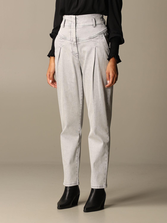 Jeans Alberta Ferretti: Jeans women Alberta Ferretti grey 4