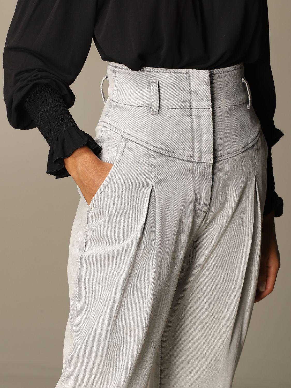 Jeans Alberta Ferretti: Jeans women Alberta Ferretti grey 5
