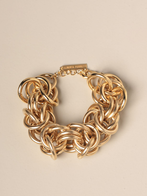 Jewel Alberta Ferretti: Jewel women Alberta Ferretti gold 1