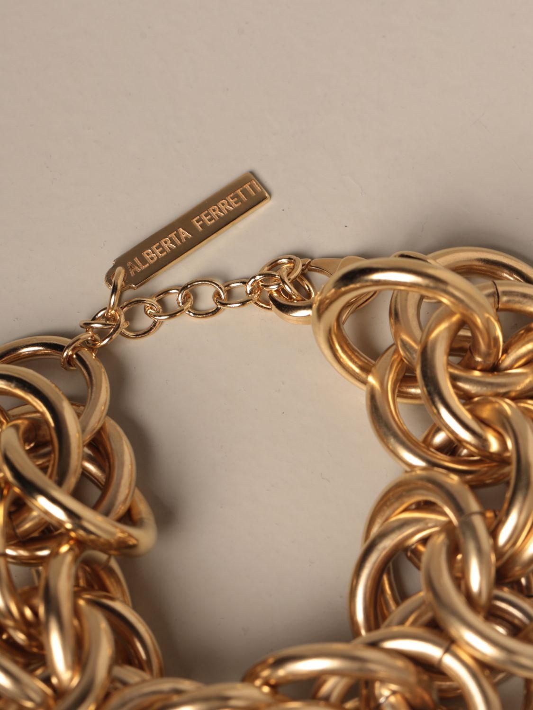 Jewel Alberta Ferretti: Jewel women Alberta Ferretti gold 2