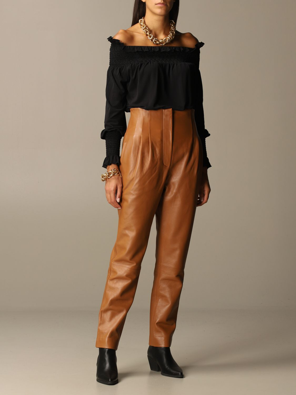 Gioielli Alberta Ferretti: Collana Alberta Ferretti con maglie metalliche oro 2