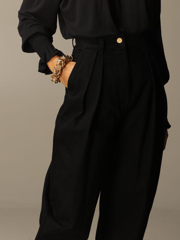 Jeans Alberta Ferretti: Jeans women Alberta Ferretti black 4