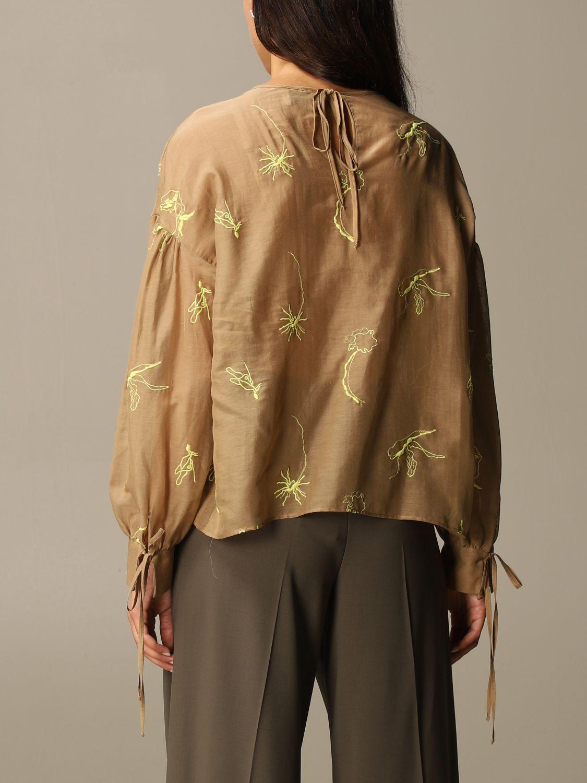Shirt Alysi: Top women Alysi camel 2