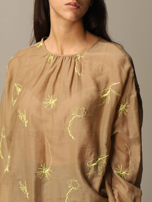 Shirt Alysi: Top women Alysi camel 3