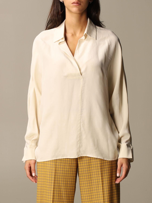 Shirt Alysi: Shirt women Alysi yellow cream 1