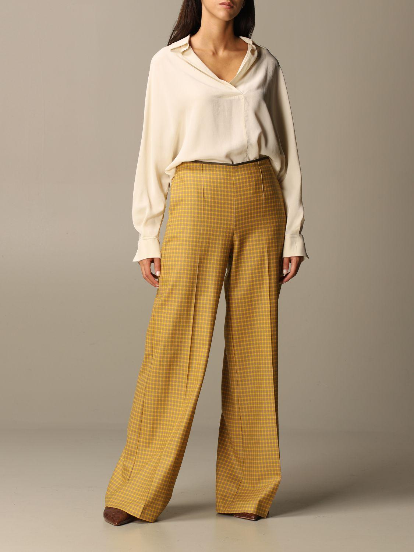 Shirt Alysi: Shirt women Alysi yellow cream 2
