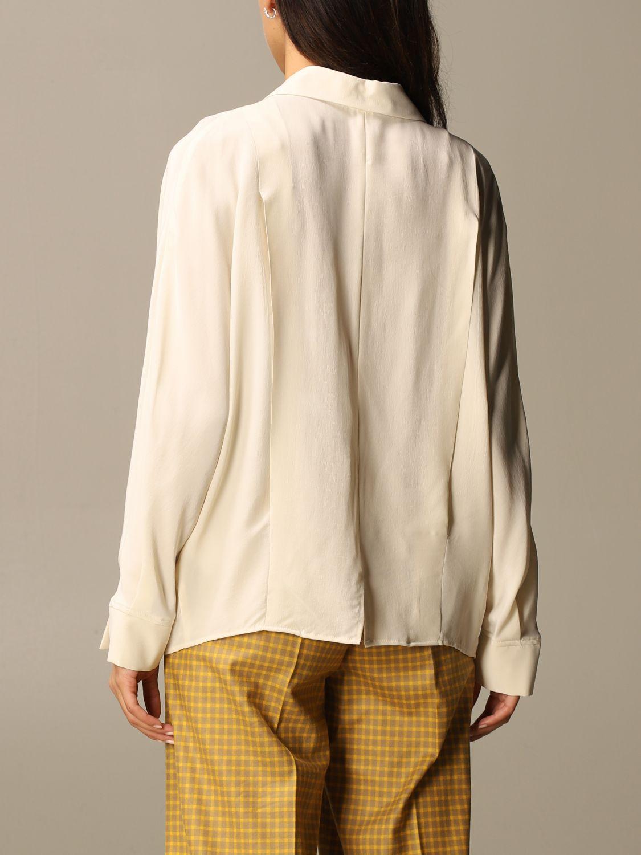 Shirt Alysi: Shirt women Alysi yellow cream 3