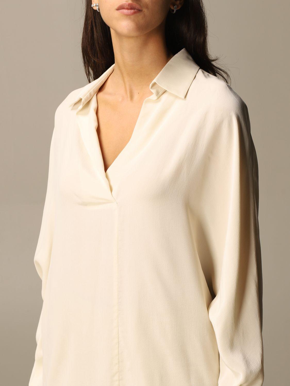 Shirt Alysi: Shirt women Alysi yellow cream 4