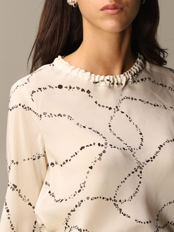 Shirt Alysi: Top women Alysi yellow cream 5