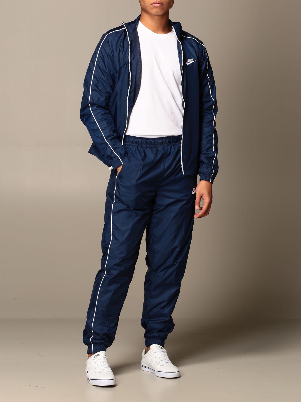 Survêtement Nike: Survêtement homme Nike bleu marine 2
