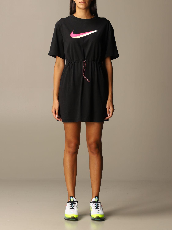 Abito Nike: Abito donna Nike nero 1