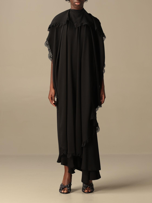 Kleid Balenciaga: Kleid damen Balenciaga schwarz 1