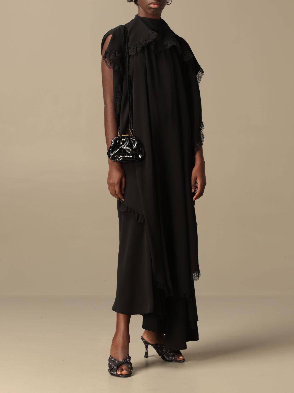 Kleid Balenciaga: Kleid damen Balenciaga schwarz 2