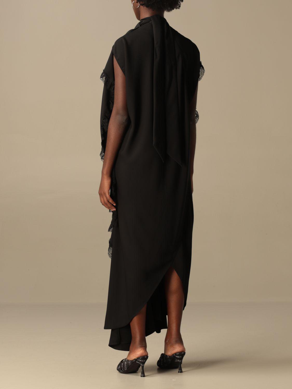 Kleid Balenciaga: Kleid damen Balenciaga schwarz 3