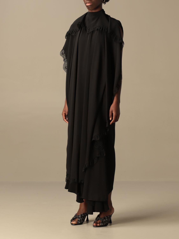 Kleid Balenciaga: Kleid damen Balenciaga schwarz 4