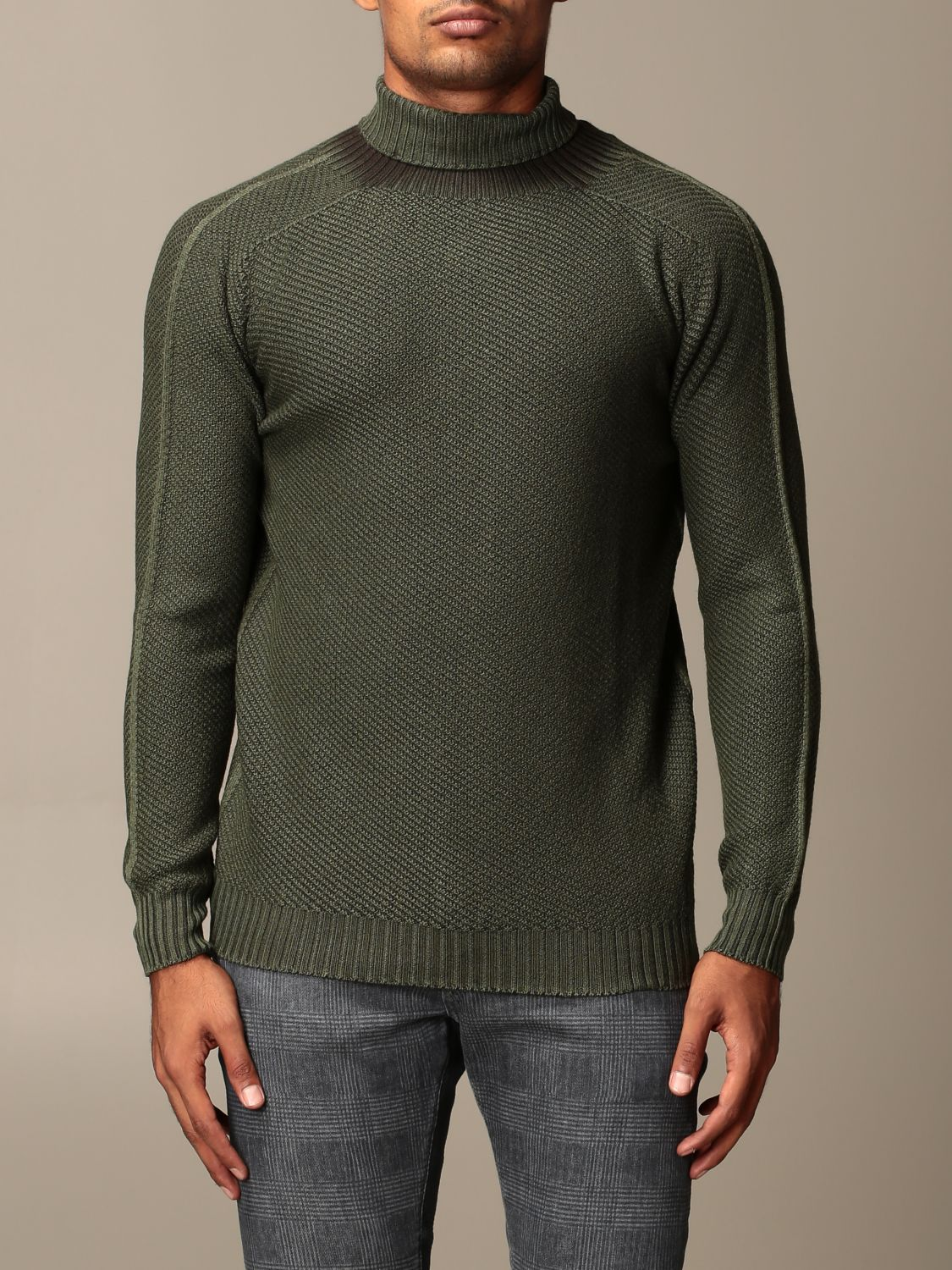 Sweater Dondup: Sweater men Dondup green 1