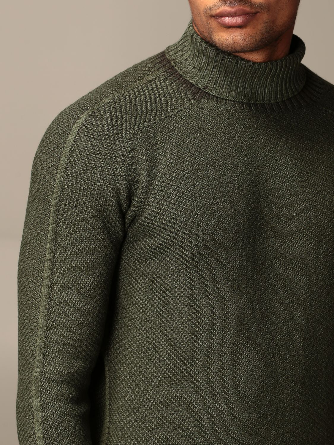 Sweater Dondup: Sweater men Dondup green 3
