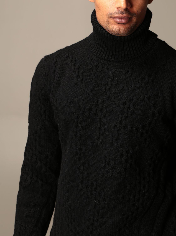 Sweater Dondup: Sweater men Dondup black 3