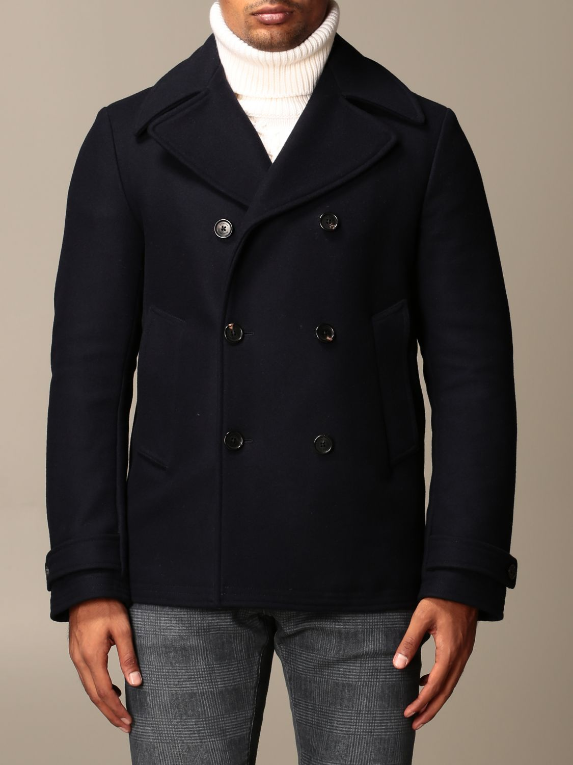 Coat Dondup: Coat men Dondup blue 1