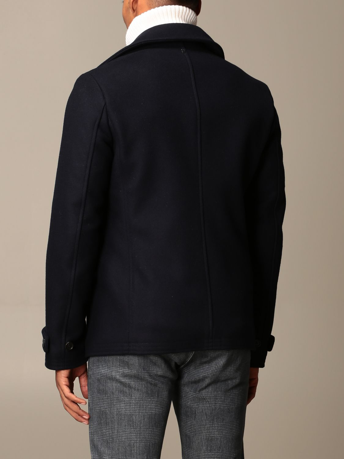 Coat Dondup: Coat men Dondup blue 3