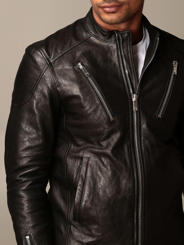 Jacket Dondup: Jacket men Dondup black 4