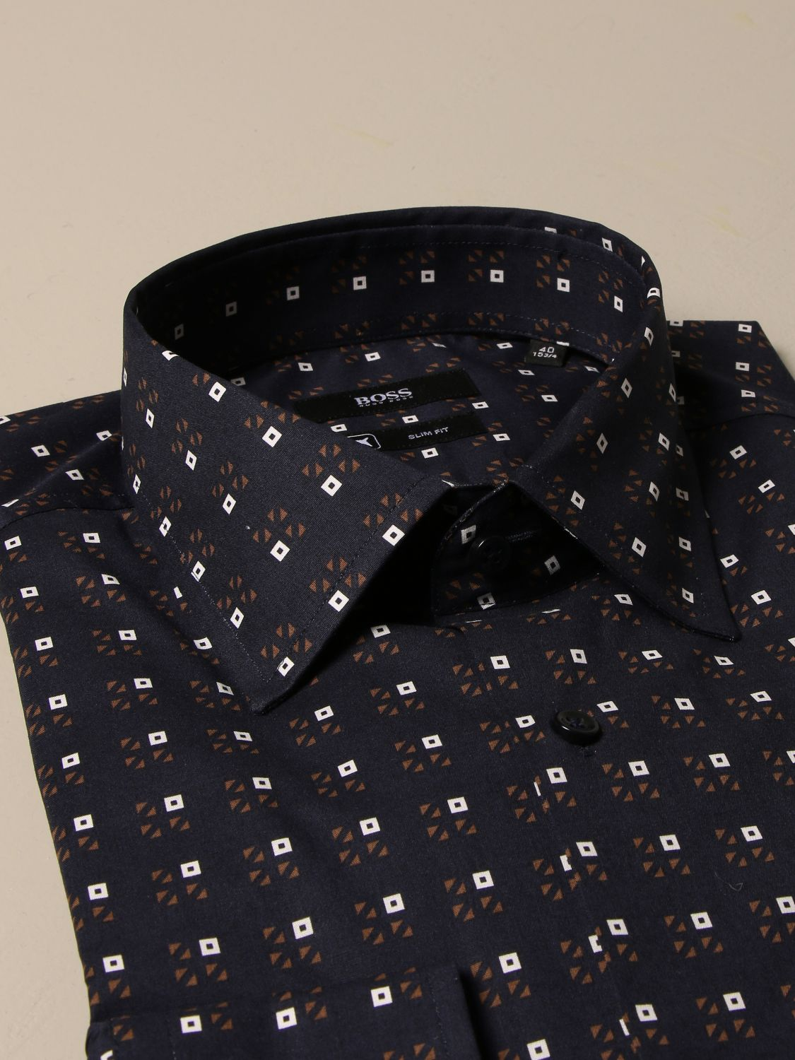 Shirt Boss: Shirt men Boss blue 2