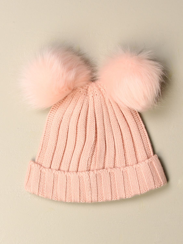 Hat girl Liu Jo: Liu Jo hat with maxi pompom pink 2