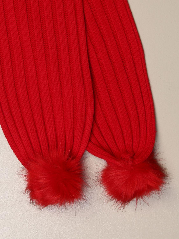 围巾 Liu Jo: 围巾 儿童 Liu Jo 红色 3