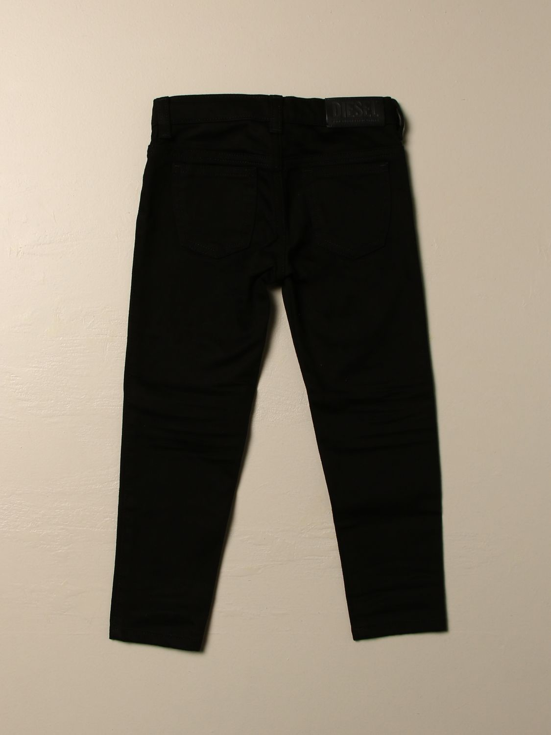 Trousers Diesel: Trousers kids Diesel black 2