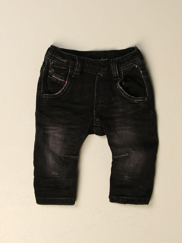 Vaquero Diesel: Pantalón niños Diesel negro 1