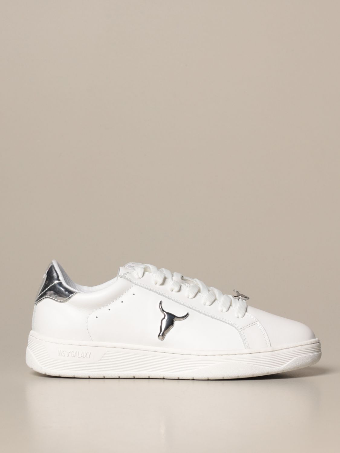 Sneakers Windsorsmith Asap: Galaxy-W Windsorsmith sneakers in leather white 1