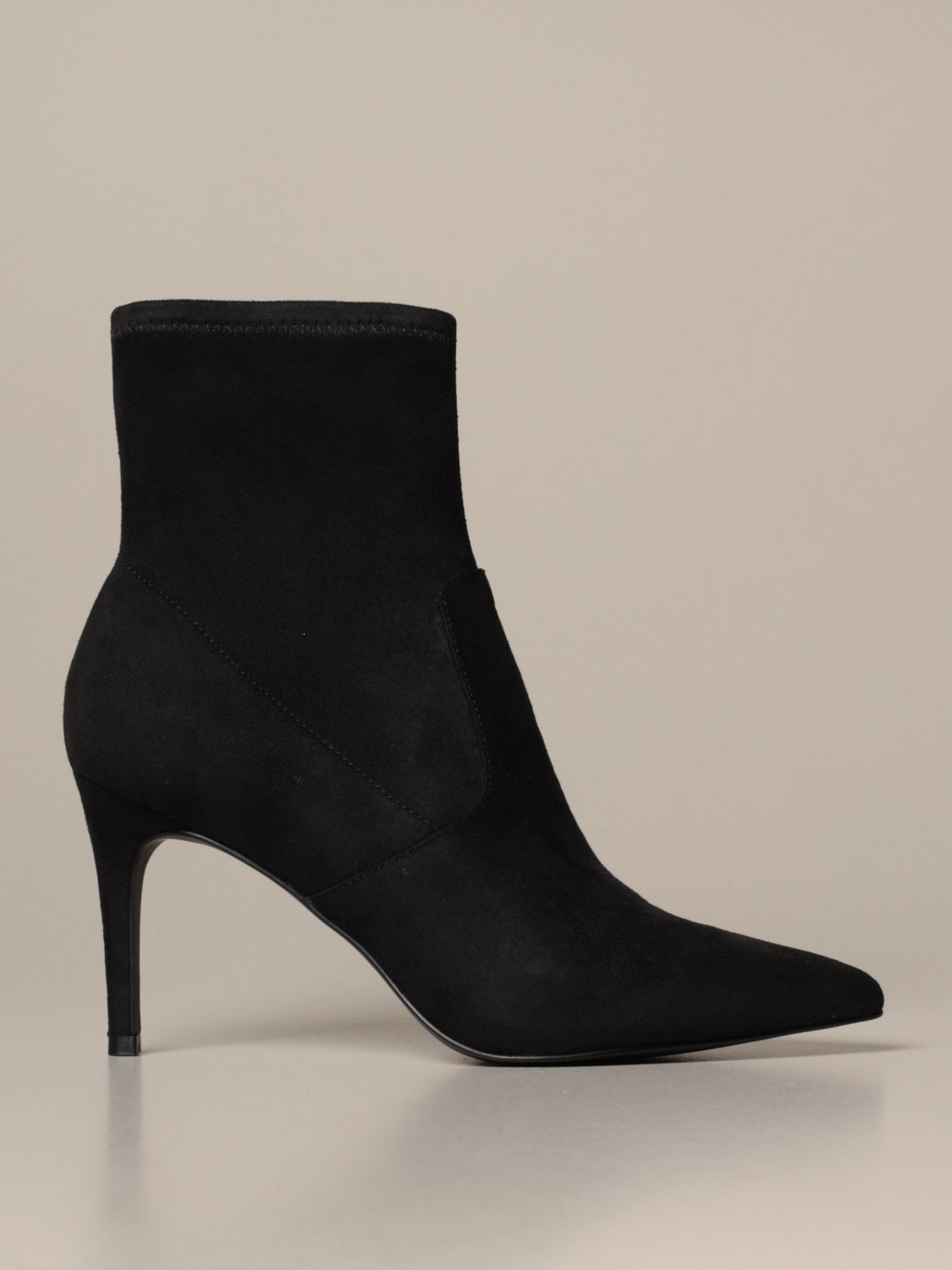 operador Sherlock Holmes gritar  Steve Madden ankle boots in synthetic suede | Heeled Booties Steve Madden  Women Black | Heeled Booties Steve Madden SMSLAVA Giglio EN