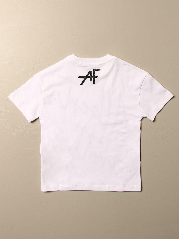 Camisetas Alberta Ferretti Junior: Jersey niños Alberta Ferretti Junior blanco 2